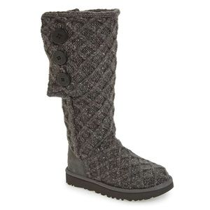 🆕 Ugg Lattice Cardy Uggpure Knit Boot